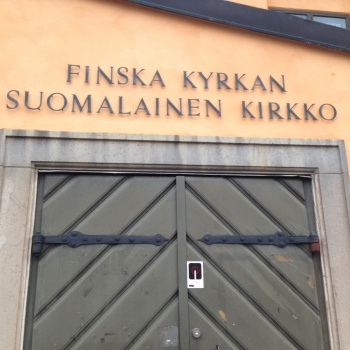 Photo stoRy for today™ – A secret passage under Finska Kyrkan in Gamla stan