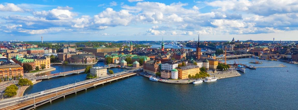 Descubra las vistas marítimas de Estocolmo!