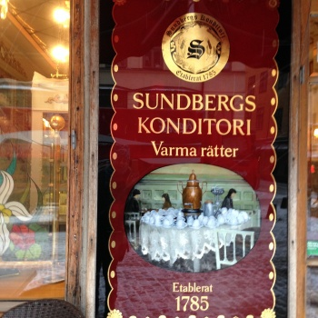 Photo stoRy for today™- Hot chocolate at Stockholm's oldest confectionery