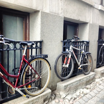 Photo stoRy for today™- Park your bike!