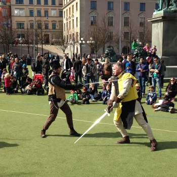 Turn your week-end to a stoRy –  Medieval Market at Kungsträdgården