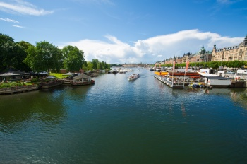 Enjoy Stockholm on a  panorama ride!