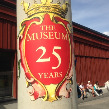 25 years for the Vasa Museum