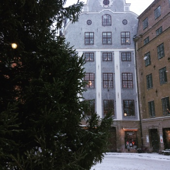 The end of the Christmas and the holiday season in Sweden