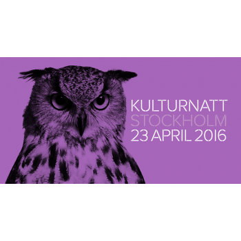 Stockholm Culture Night 2016 – 23 April