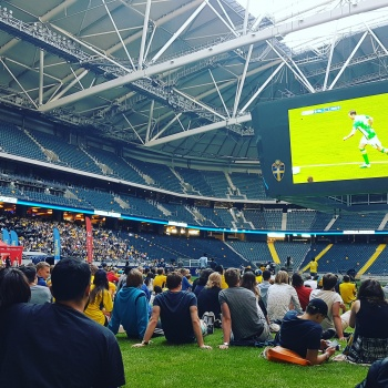 Sweden at EURO 2016 live at Friends Arena!
