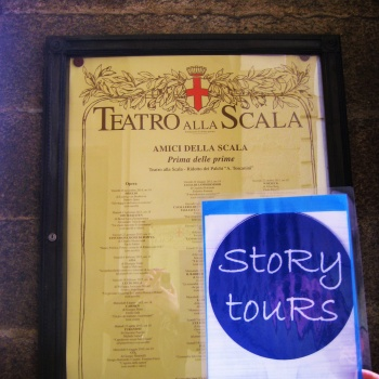 Travel stoRy #19- La Scala in Milan (Italy)