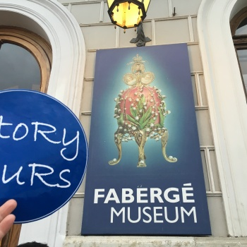 Travel stoRy #40-   Fabergé Museum in St. Petersburg (Russia)