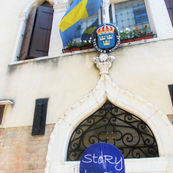 Travel stoRy #26- Venice and the Swedish Consulate ( Italy)