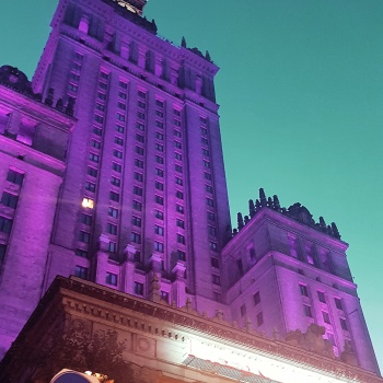 Travel stoRy #29 – The Palace of Culture and Science in Warsaw (Poland)
