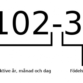 The Swedish personal identity number
