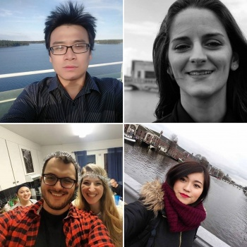 International students talking about life in Sweden