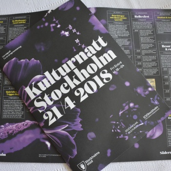 Stockholm Culture Night: an evening that caters for all tastes